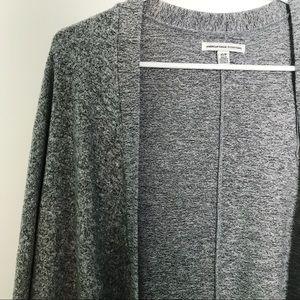 AE Comfy Gray Stretch Cardigan